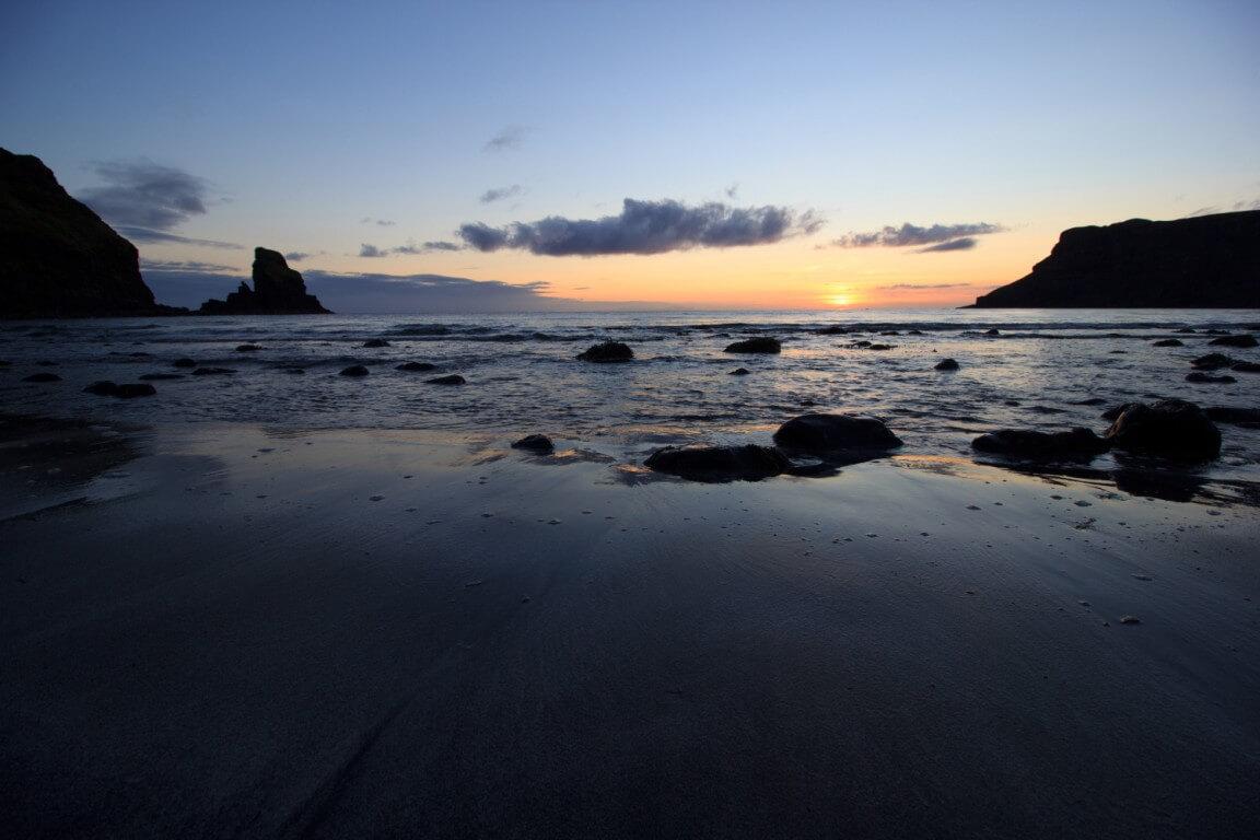 Talisker bay beach