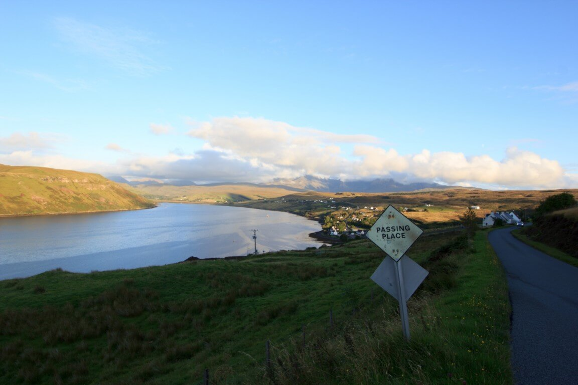 Loch Harport & Talisker distillery
