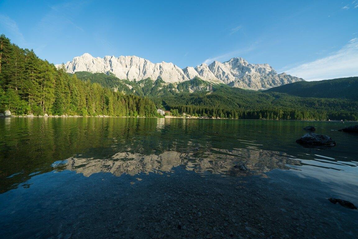 Zugspitze landscape