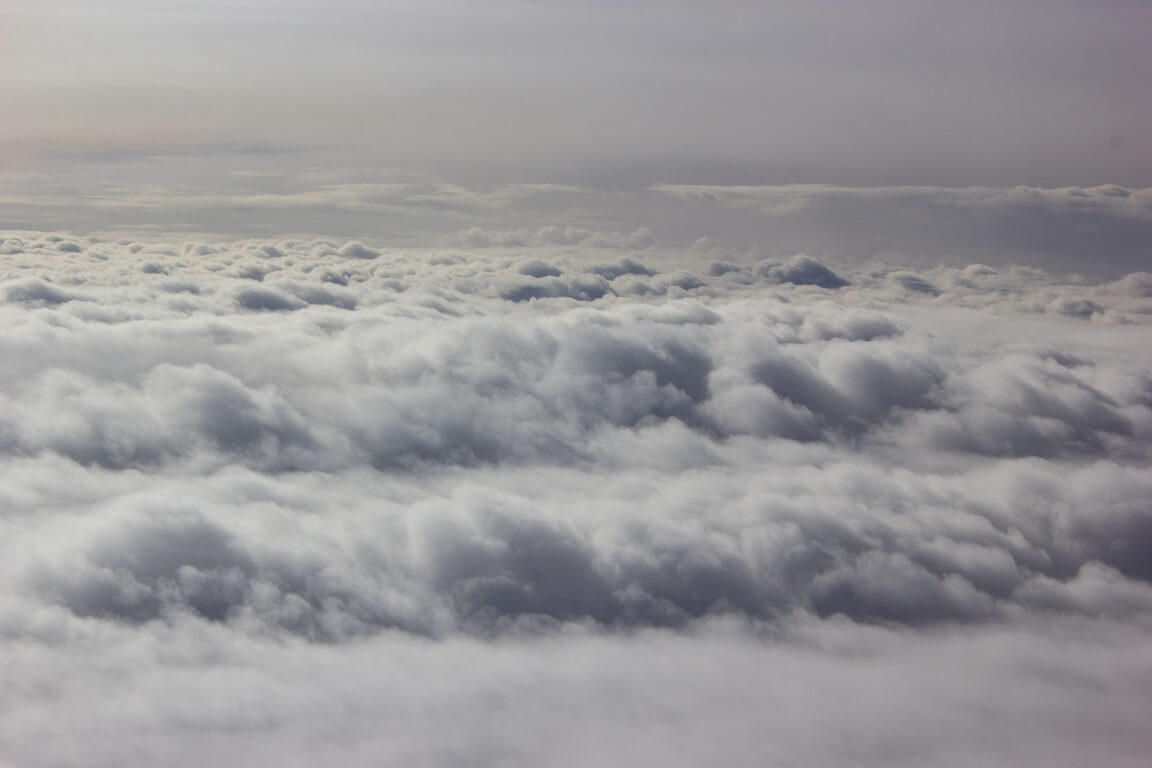 Clouds taken from plane