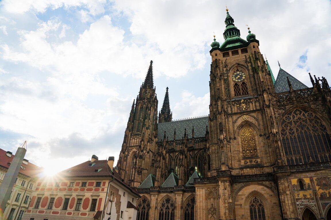 Prague Castle St Vitus Cathedral